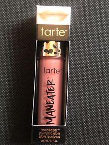 Tarte Maneater Plumping Lip Gloss Shade Buff 3ml NIB