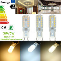 G9 Lampe 3W/5W 2835 SMD 14/22 LED PC Ampoule Dimmable AC 220V Blanc/Chaud/Nature