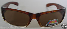 New Designer Sport sunglasses P26182 Brown Clear/Brown Polarized lens