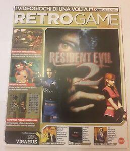 RIVISTA RETROGAME MAGAZINE N.8  GAMES VILLAGE- LUGLIO AGOSTO  2018- EDICOLA