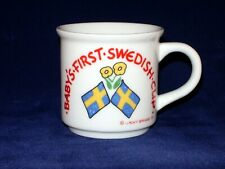 Baby's First Swedish Cup - 5oz - Porcelain