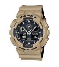 Casio G-Shock GA100L-8ACR Layered Series Men's Sand Tan Resin Ana-Digi Watch