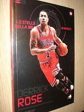 LIBRO BOOK N° 20  LE STELLE DELLA NBA AI RAGGI X DERRICK ROSE CHICAGO BULLS