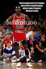 MICHAEL JORDAN - BEAUTIFUL POSTER PRINT WITH QUOTE - LOOKS AWESOME FRAMED