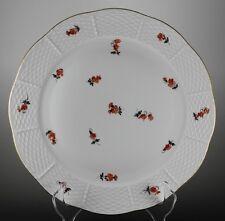 """HEREND China Mille Fleur SCATTERED FLOWER Antique Porcelain10 1/8"""" Dinner PLATE"""