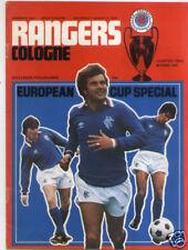 EC I 78/79 Glasgow Rangers - 1. FC Köln