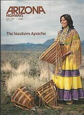 ARIZONA HIGHWAYS July 1977 ~ The Western Apache