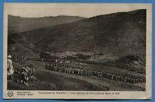 CPA MAROC: Campagne du MAROC - Une remise de décoration dans le Riff  / 1930