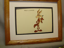 Wile E Coyote Looney Tunes Artist  Color theater decor international display