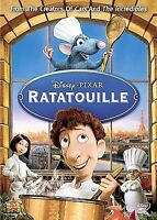 Ratatouille DVD has no slip cover. (Their is ,no Damage )