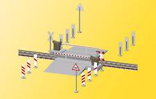 Viessmann 5107 Bahnschranke mit Behang gepiegelt, vollautomatisch, wie 5104, H0