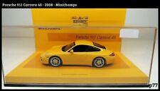 Porsche 911 Carrera 4S - 2008 - 1/43 - Minichamps Special Edition Linea Giallo