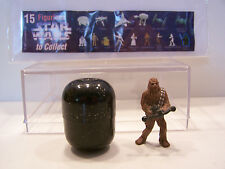 Star Wars Tombola 1997 Chewbacca figurine with egg and List