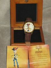 Toy Story/ Woody/ LTD ED Fossil Watch/ Wood Box/ Cert of Auth/ 622 of 1000