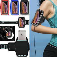 Sports Armband Phone Key Holder Case For Samsung Galaxy S7/S9/Note 5/J3/J8/A6/A8
