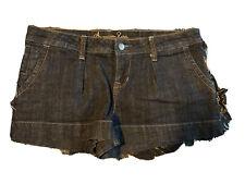 American Rag Womens Ripped Cuffed Denim Shorts