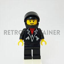LEGO Minifigures - 1x lea005 - Man - Leather Jacket Town Omino Minifig 5599 5600