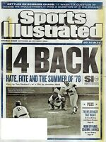 SPORTS ILLUSTRATED MAGAZINE  SEPT 24-OCT 1 2018 HATE FATE AND THE SUMMER OF '78