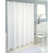 Essential Home Fabric Shower Curtain -   Waffle Wave Design / Ivory 70x72""