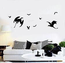Vinyl Wall Decal Fantastic Beasts Dragon Fantasy Art Stickers Murals (ig4923)