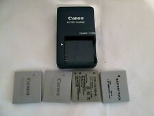 Canon Battery Charger CB-2LV G with NB-4L 4 Batterys Tested