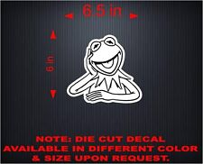 Car Decals. Wall Decal. Laptop Decal... Kermit the Frog. Rana Rene. 6""