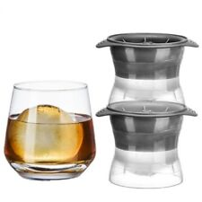 Ice Ball Makers Creative 2.5 Inch Spheres Christmas For Beverages 2 Pieces Gifts