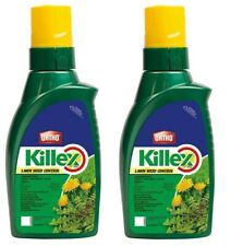 2 x 1L Ortho Killex Lawn Weed Killer Concentrate - Fresh 2021 Inventory