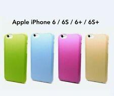 Apple iPhone 6 6S Plus Case TPU Slim Soft Case Rubber Colorful Cover