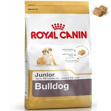 Royal Canin Breed Health Nutrition Specific Bulldog Junior Puppy Dog Food 12kg