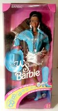 Mattel 1993 AA Barbie WESTERN STAMPIN' Christie #10539 New NRFB