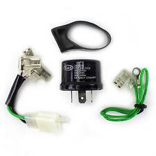 K&S LED Flasher Blinker IC Relay Kit DOT 16V 15A Dirtbike Moto Enduro MX Suzuki