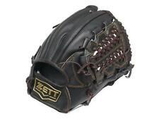 ZETT Pro Model 11.75 inch Black Baseball Softball Infielder Glove