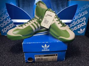 Adidas Italia, Rare Green C/W 2002 Japanese Issue, Size 9 BNIB Unused Condition.