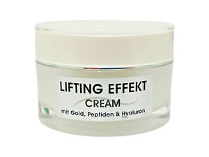 Joveka Lifting Effekt Cream Day & Night mit Gold, Peptiden und Hyaluron 50 ml.