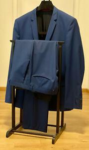 Hugo Boss Anzug blau Größe 52 Adris4 / Helbo3