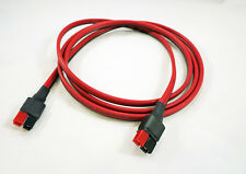 "ANDERSON POWERPOLE Sermos Extension Jumper Cable 72"" 6' foot 45A Cord 12AWG Amp"