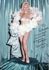 Vintage/Retro BONNIE LOGAN/LAURA LEE*Burlesque hand signed photo(Delilah Jones)