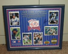 1992 Upper Deck NY Yankees Multi Signed 9.5 x 12 Framed Photo 6 sigs w/Mattingly