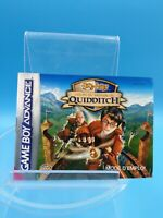 jeu video notice BE nintendo gameboy advance FRA harry potter quidditch