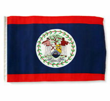 """12x18 12""""x18"""" Belize Sleeve Flag Boat Car Garden"""