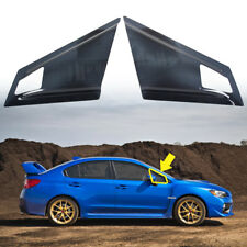 FOR SUBARU WRX STI 4DR SPORT SEDAN WINDOW LOUVER VISOR 2015-2018