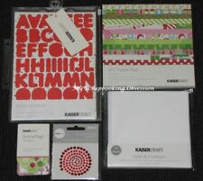 Kaisercraft 'CHRISTMAS CARD MAKING PACK' 5pcs Paper Pad + KAISER *DELETED*