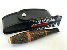 VAUEN Zeppelin Pfeife rustiziert - 9mm Filter Made in Germany pipe pipa