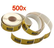 Rotolo 500 cartine per ricostruzione unghie mani.Manicure unghie tips gel UV art
