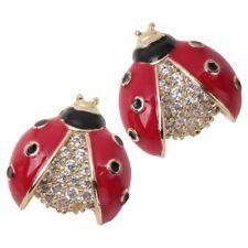 for Women Teen Girl Ne11 Ladybug Stud Earrings Jewelry Accessories