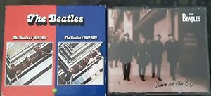 Beatles CD Lot 1962-1966 & 1967-1970 4 CD Box Set Live At The BBC 2 CD EX
