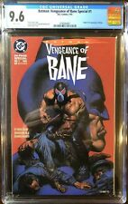 BATMAN: VENGEANCE OF BANE #1 CGC 9.6 Origin & 1st App of Bane DC 1993