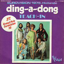 TEACH-IN DING-A-DONG / LET ME IN FRENCH 45 SINGLE