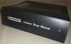 1984-1991 90 89 88 87 86 85 KENWORTH W900 SEMI TRUCK SERVICE SHOP REPAIR MANUAL